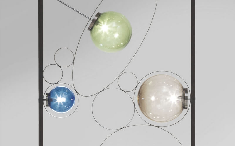 Unik smuk gulvlampe fra kare design