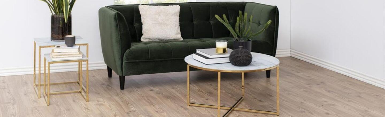Marmor sofabord klassisk udtryk