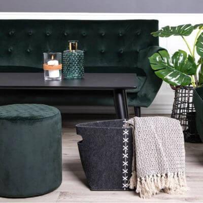 Lækre stof sofaer, velour sofa
