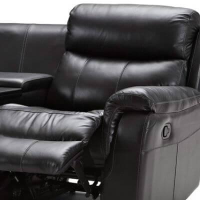biograf sofa i læder og kunstlæder