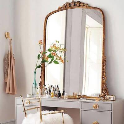 Vintage indretning store spejle