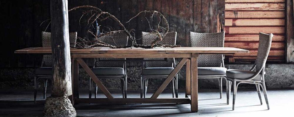 Langbord med udtræks mulighed 12 personers spiseborde
