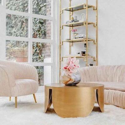 Pastel farvet stof sofa