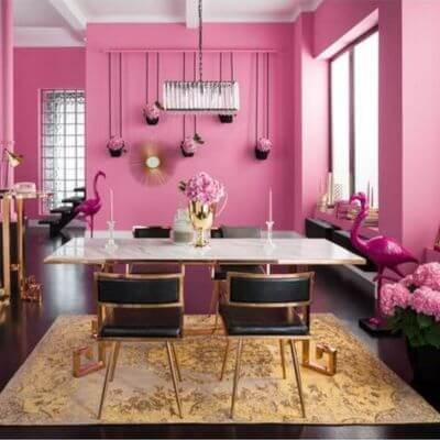 Fusca pink rum pink flamingo