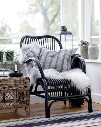 Vinter hyggekrog stol