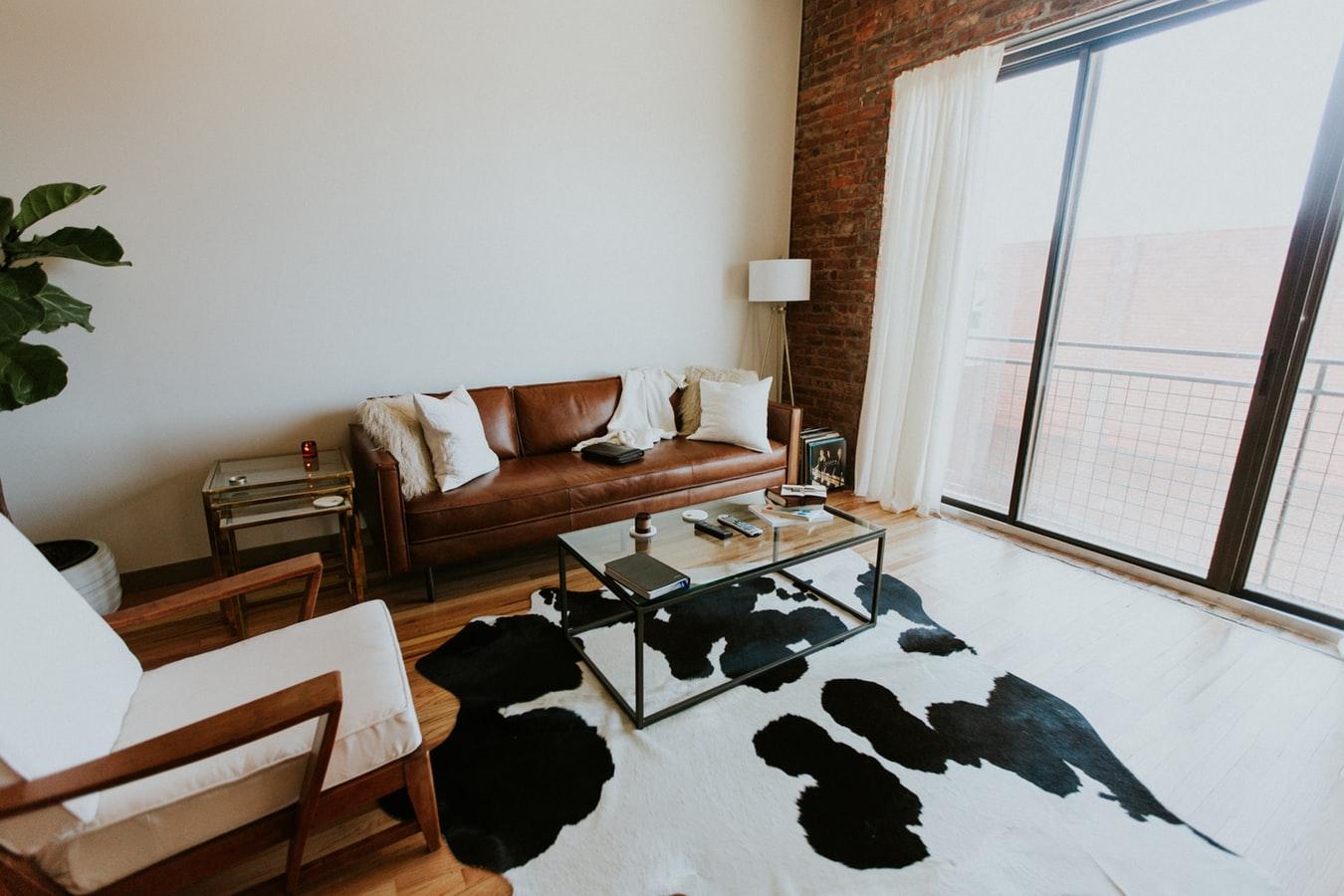 Indretning med retro møbler simpelt