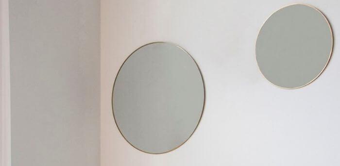 Flotte spejle til pynt til væggen