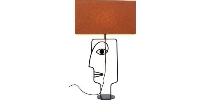 Fin bordlampe