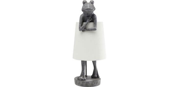 Sjov lampe formet som en frø