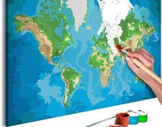 Flot DIY verdenskort