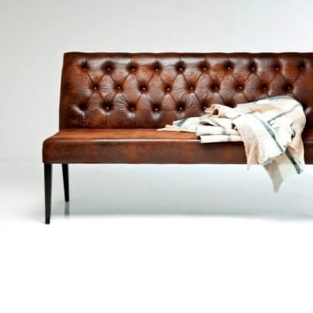 imiteret, imiteret skind, chesterfield, chestersofa