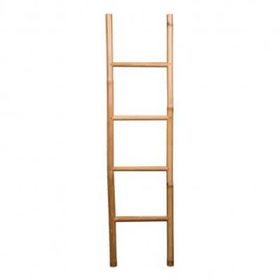 bambus, bambusmøbler, møbler, træ, stiger, reolstiger, håndklædeholder, boboonline