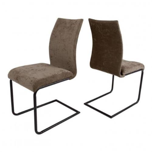 spisebord, spisebordsstole, velour stole, velour spisebordsstole, boboonline