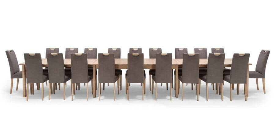 Flot spisebordssæt til 20 personer fra bæredygtige NocNoi
