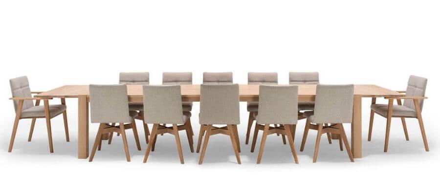 Flot spisebordssæt til 6-18 personer fra bæredygtige NocNoi