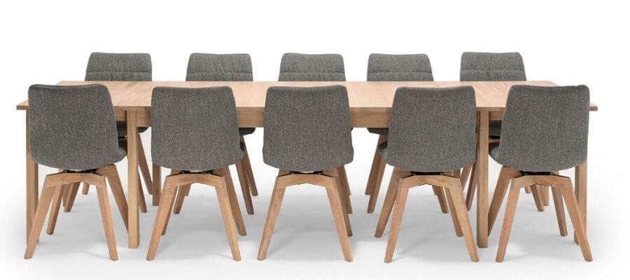 Flot spisebordssæt til 6 personer fra bæredygtige NocNoi