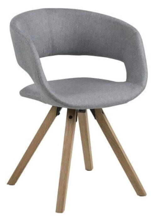 Flot Grace spisebordsstol med armlæn