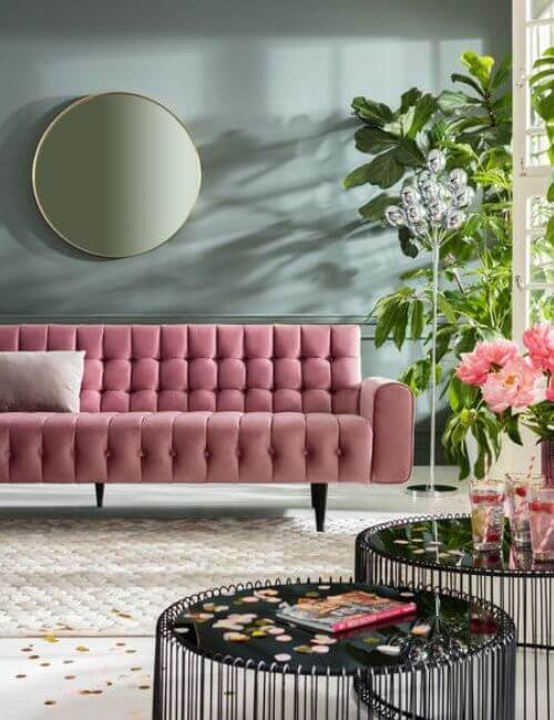 Rosa sofa
