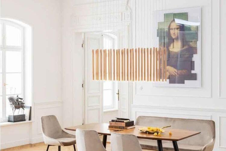 Flot og elegant spisebordslampe