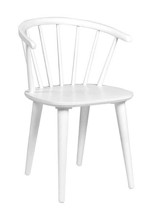 Flot spisebordsstol fra Rowico med armlæn