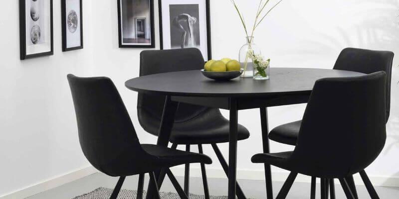 Rowico rundt spisebord med Ø115