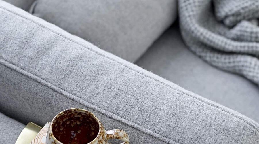 Lækker sofa i uld