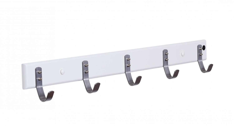 Image of   Furbo Ricky - knagerække, 72 cm. Hvid