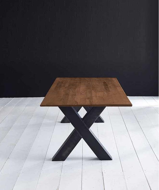 Concept 4 You Plankebord - Schweizerkant med Freja-ben, m. udtræk 3 cm 220 x 100 cm 06 = old bassano