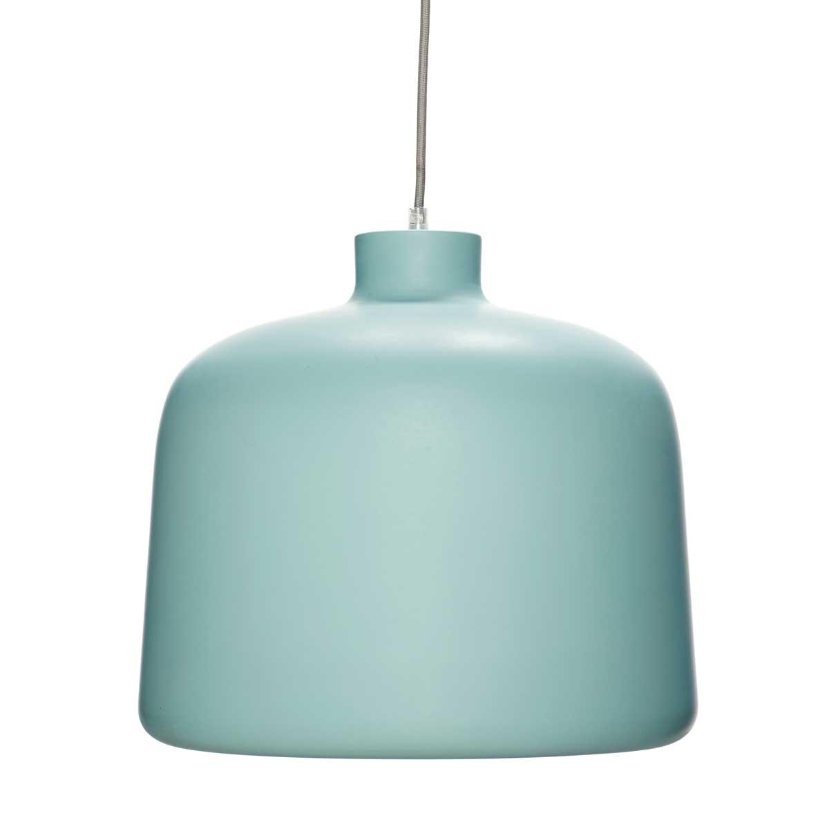 Image of   HÜBSCH Grøn aluminium Lampe