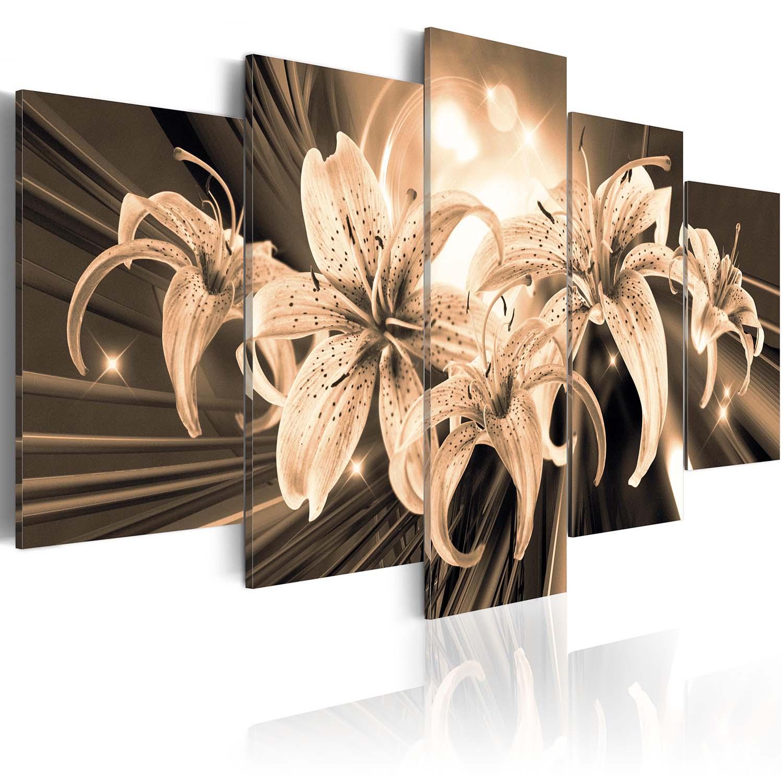 Image of Artgeist billede - Bouquet of Memories, på lærred, to størrelser. 100x50