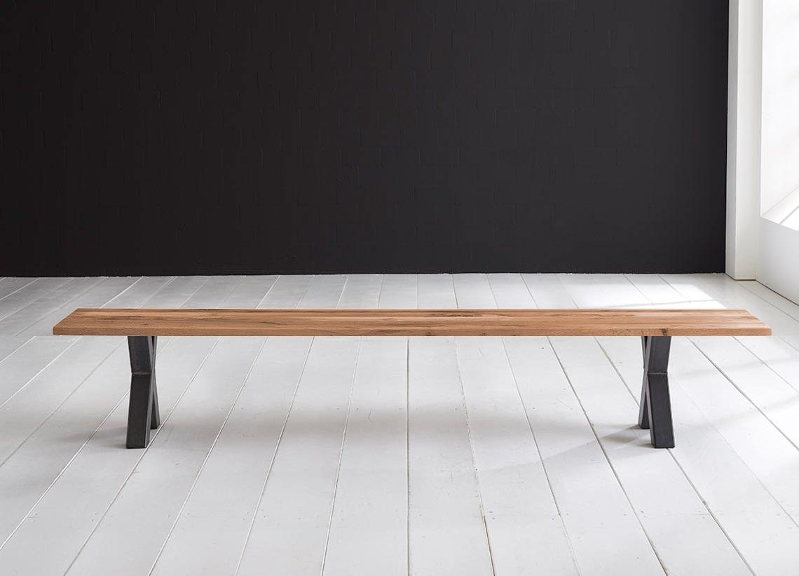 Concept 4 You Spisebordsbænk - Freja ben 260 x 40 cm 3 cm 01 = olie