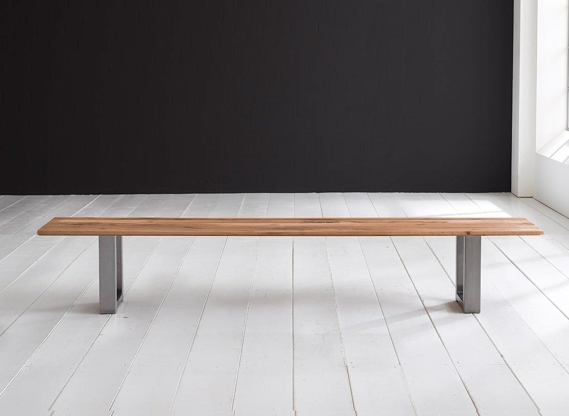 Concept 4 You Spisebordsbænk - Manhattan ben 240 x 40 cm 3 cm 01 = olie