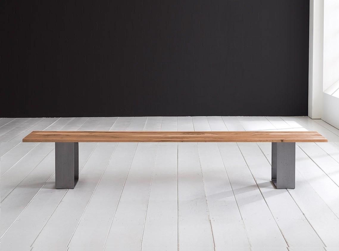 Concept 4 You Spisebordsbænk - Houston ben 260 x 40 cm 3 cm 01 = olie