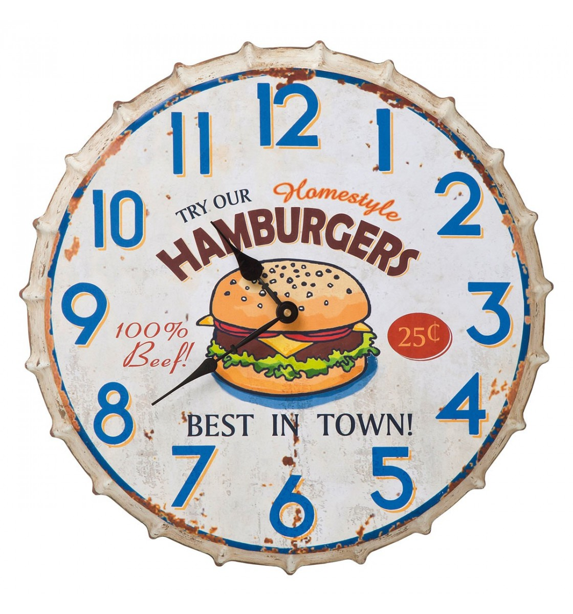 Kare design hamburger ur