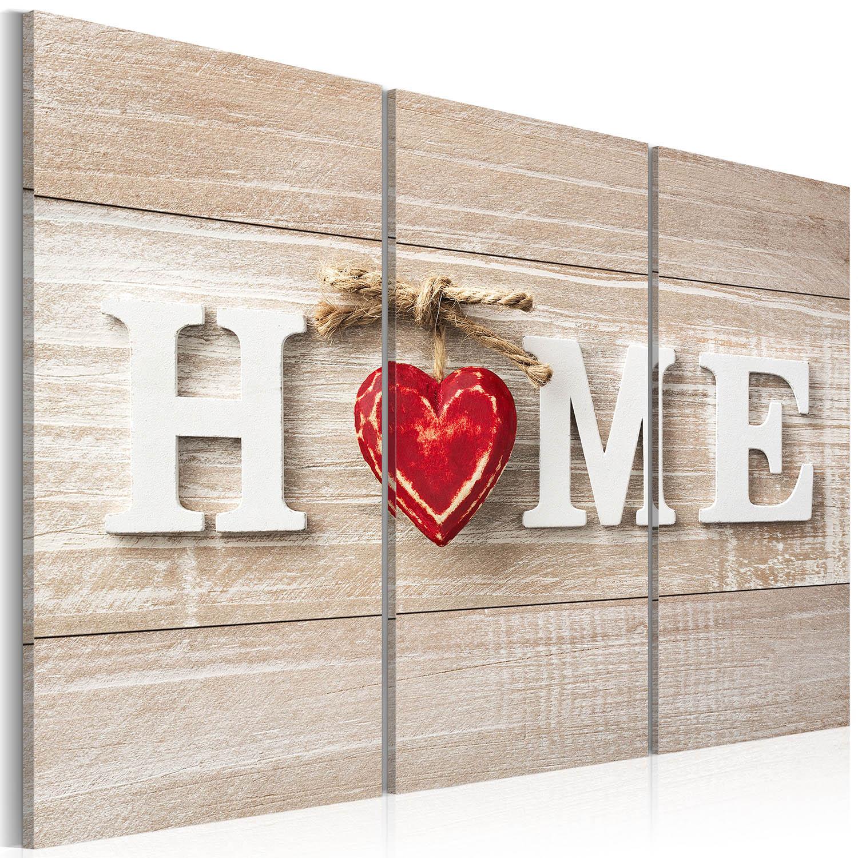 Artgeist billede - The Heart of the Home, på lærred 120x80 thumbnail