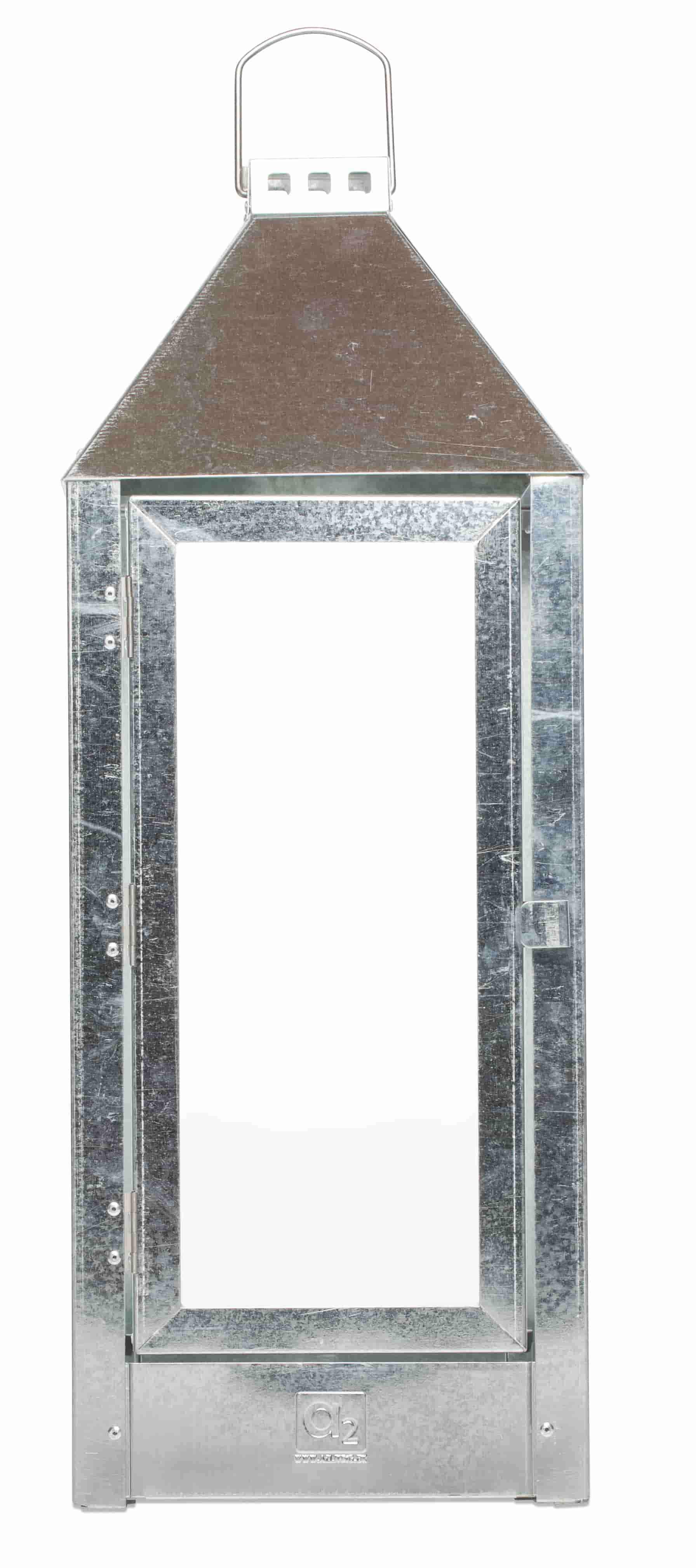 Image of   A2 LIVING Maxi lanterne - rustfri stål (22,5x60)