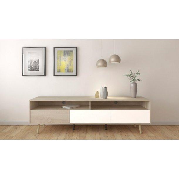 nashville tvilum tv bord fri fragt og prismatch. Black Bedroom Furniture Sets. Home Design Ideas