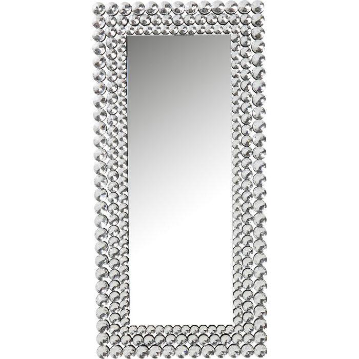 kare design Kare design diamond fever rectangular vægspejl - spejlglas, rektangulær (162x78) på boboonline.dk