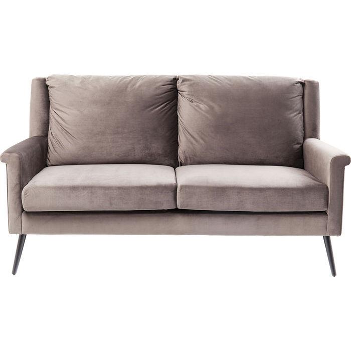 kare design – Kare design san remo grey 2-personers sofa - gråt stof/stål, m. armlæn på boboonline.dk