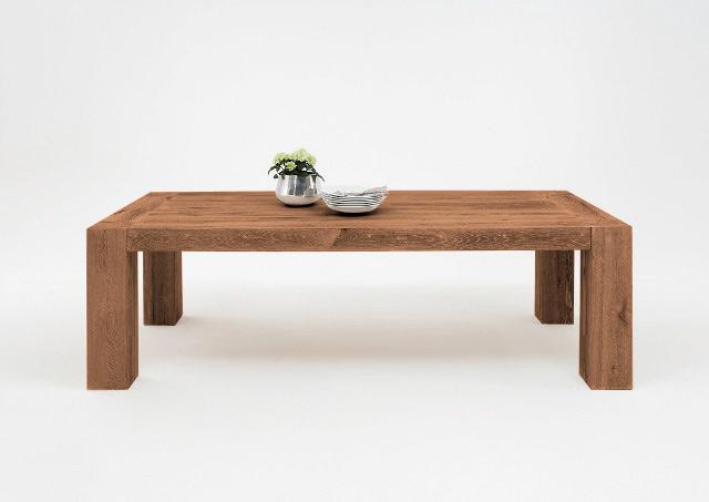 BODAHL Thor spisebord - old bassano egetræ, plankebord 200 x 110 cm