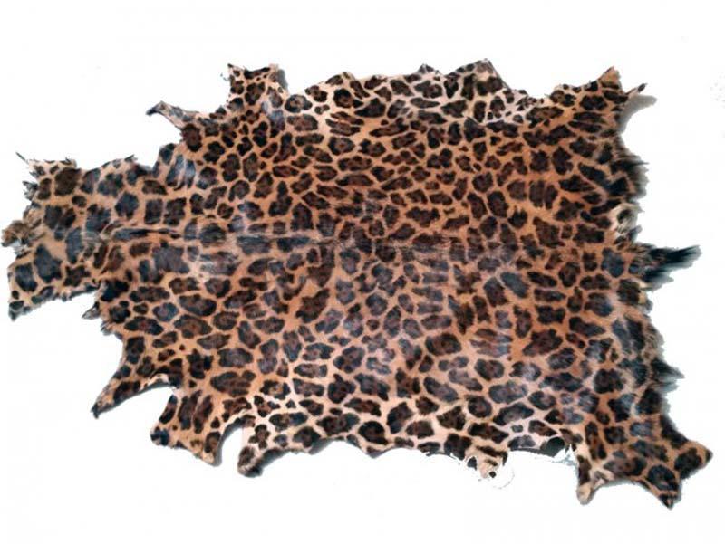 Billede af Gedeskind, Leopard print.