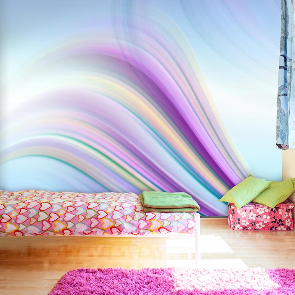Image of   Artgeist Fototapet - Rainbow abstract background, abstrakt regnbue (flere størrelser) 300x231