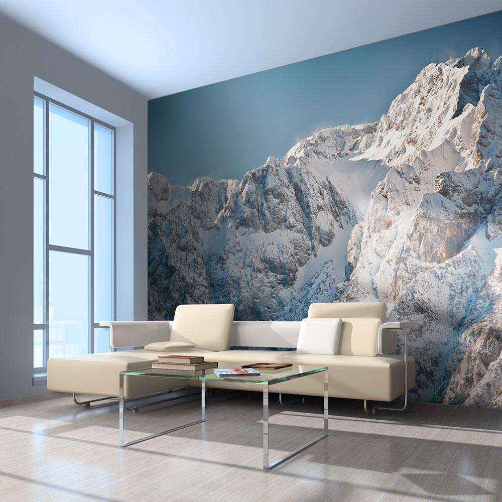 Artgeist Artgeist Fototapet - Vinter I Alperne (Flere Størrelser) 300X231 Boligtilbehør