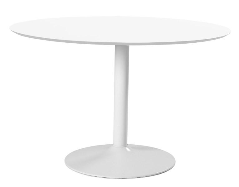 Billede af IBIZA rundt hvidt spisebord