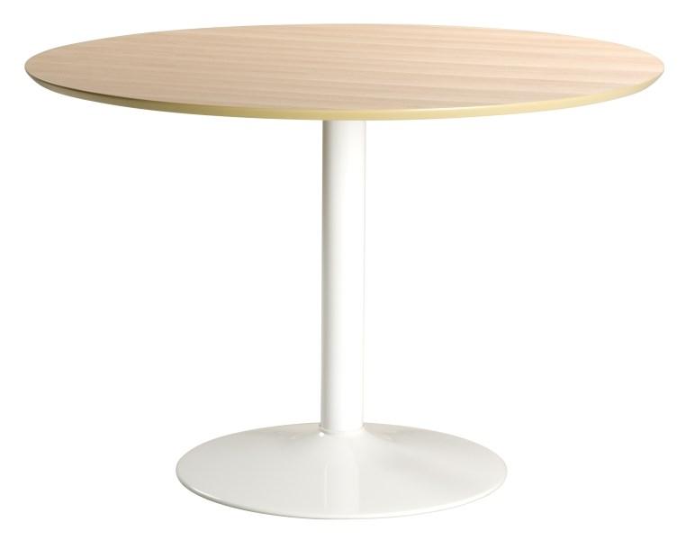 Billede af IBIZA rundt spisebord, Natur/hvid