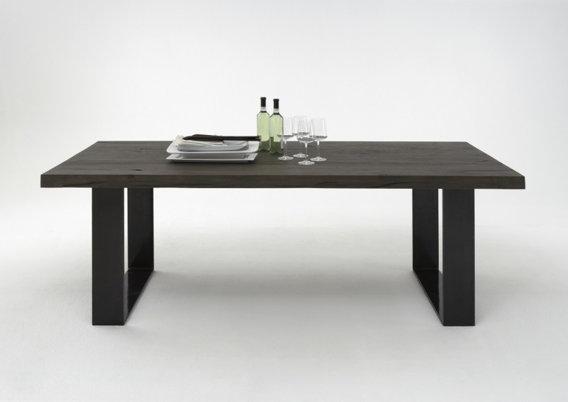 BODAHL Houston plankebord - mocca black el. smoked eg 300 x 110 cm. 02 = smoked