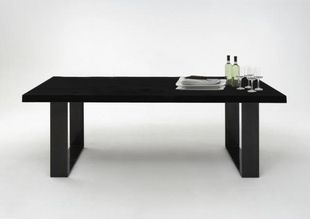 bodahl Bodahl texas spisebord - mocca black egetræ, plankebord 200 x 100 cm på boboonline.dk