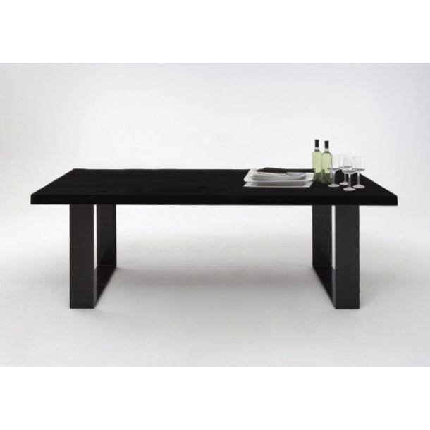 Kaffe sort plankebord - Texas spisebord i rød-eg bestilles lige her >>