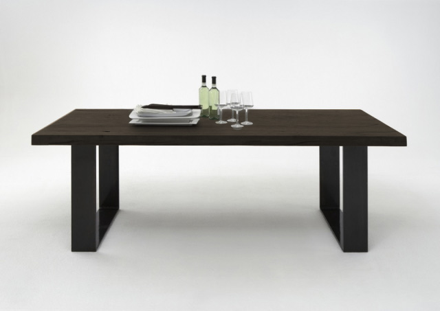 bodahl Bodahl texas spisebord - smoked egetræ, plankebord 220 x 110 cm på boboonline.dk