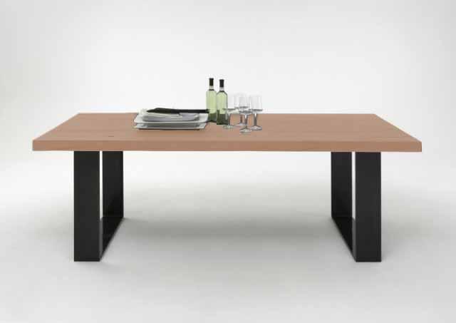 BODAHL Texas spisebord - sæbebehandlet egetræ, plankebord 180 x 100 cm